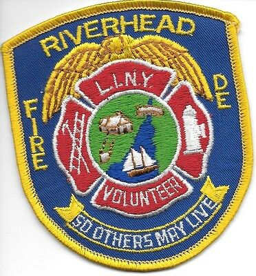 """*NEW*  Riverhead L.I.N.Y., NY  (3"""" x 4"""" size) fire patch"""
