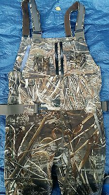 Gander Mountain Pro Waterfowl Hybrid Chest Wader 4mm 800g Realtree Max-5 Sz 8