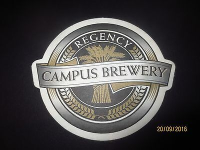 1 only CAMPUS  BREWERY ,South Australia collectable COASTER