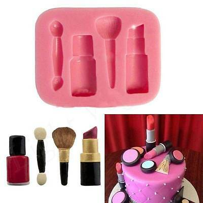 Popular 3D Silicone Fondant Mould Cake Decorating Chocolate Baking DIY Mold Tool