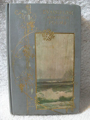 """SCARCE!  """"EVANGELINE AND OTHER POEMS"""" Henry W. Longfellow VERY RARE BOOK"""