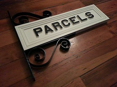 PARCELS x2 - Station sign letters - NSW railway, kit, live steam, replica