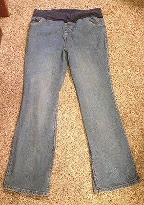 NEW ADDITIONS MATERNITY STRETCH Jeans Size M