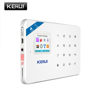 2017 NEW KERUI W18 WIFI GSM SMS Home Burglar Security Alarm system  panel only