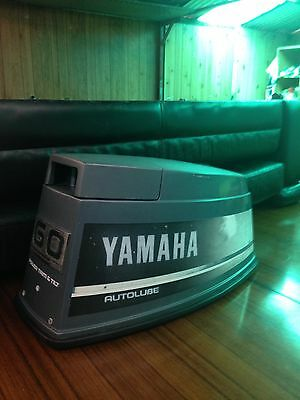 Yamaha Outboard Cowling 60-70 Hp In Excellent Condition.