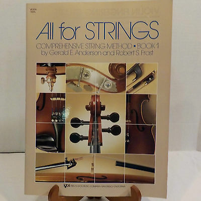 All For Strings Book 1 Kjos Music Book