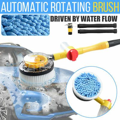 Automatic Car Cleaning Brush Household Portable Washing Sponge Self-Washing AU
