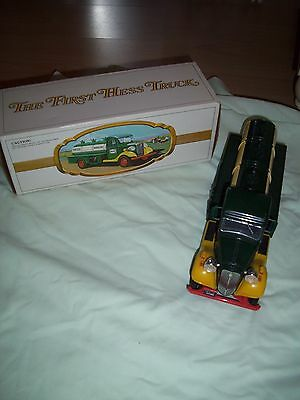 ORIGINAL 1980's THE FIRST HESS TOY TRUCK IN ORIGINAL BOX