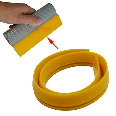 100cm Turbo Squeegee Rubber Replacement DIY Size for Window Tint Clean Wrap Tool