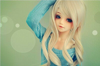 1/4 DOLL Sist (closed lips)Fashion Beautiful Girl free eyes + Face Up Best Value