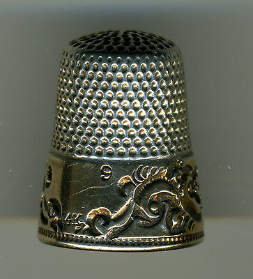 Lot of 3 Sterling Silver Thimbles from Ketcham McDougall