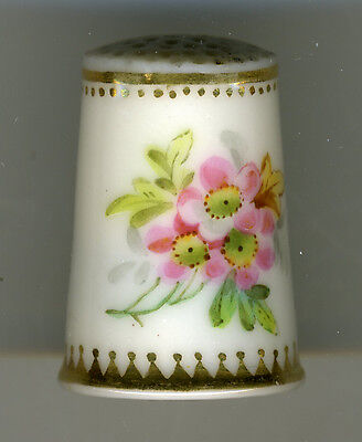 Antique English Porcelain Thimble, Ramstead Collection