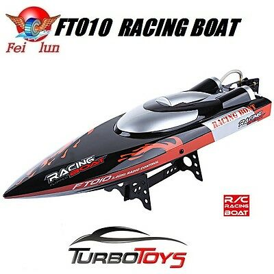 New - Rc 2.4Ghz Ft011 Brushless High Speed Racing Boat 45Km/h - 65Cm - Hobby Rtr