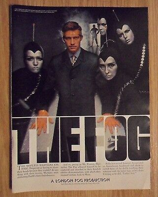 1967 Print Ad LONDON FOG Fashions ~ The Mopless Martians Episode