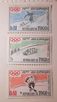 Togo Stamps 1960 Olympiques Californie