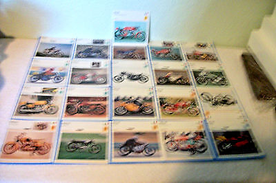 Vintage !!! Ducati  Motorcycles 20 Picture Lot( Made In Italy ) 1957-1981