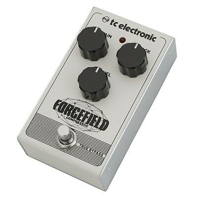 TC Electronic Forcefield All-Analog Compressor Guitar Effects Pedal