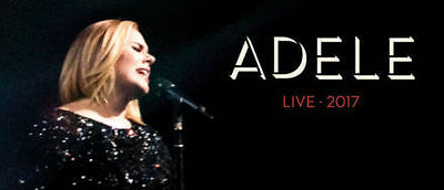 ADELE  MELBOURNE 2 x VIP GOLDEN CIRCLE PACKAGE TICKETS SATURDAY 18TH MARCH 2017