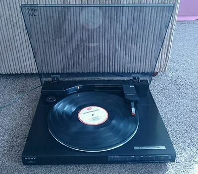 Vintage Sony PS-LX520 turntable record player
