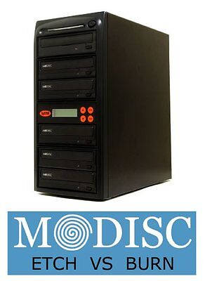 Systor 1 to 5 M-Disc 24X CD / DVD Multi Target Duplicator Tower