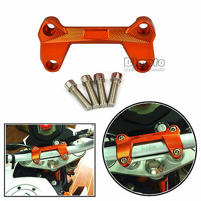 CNC Aluminum Motorcycle Handlebar Riser Top Cover for KTM DUKE 125 200 390