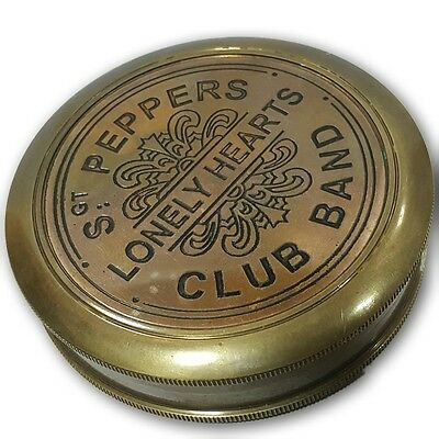 vintage quality brass sgt peppers lonely hearts club band compass AFUSF SC 031