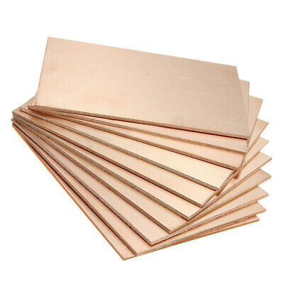 10PCS 70x100x1.5mm One-Side Copper Clad Single PCB Circuit Kit Board Glass Fiber