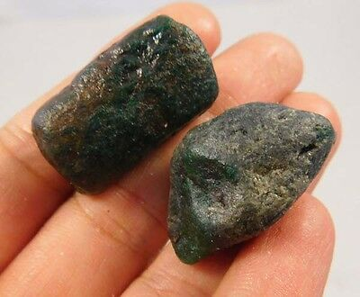 115 Cts. 100% Natural Emerald Fuchsite Lot Loose Cabochon Gemstone (NE608)