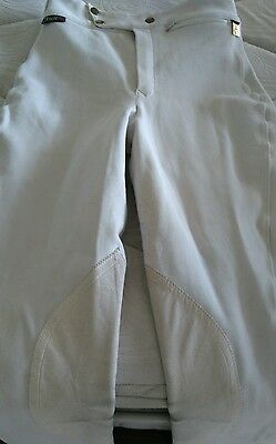 White Competition Breeches - Ladies 10