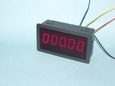 """DC 5V 0.56"""" Red LED Digital Counter Meter Count Timer Timing Three Function UK"""