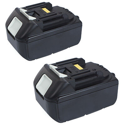 2 X New 18V 5.0Ah Lithium Ion Battery LXT For Makita BL1830 BL1815 Pack 18 Volt