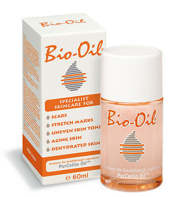 BIO-OIL - SKINCARE FOR SCARS, STRETCHMARKS, DEHYDRATED SKIN - 60ML x 2 ***NEW***