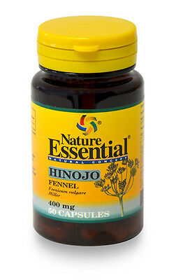 Hinojo 400 mg. 50 cápsulas. Nature Essential
