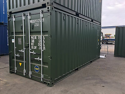 20ft  X 8ft NEW SHIPPING / STORAGE CONTAINER.