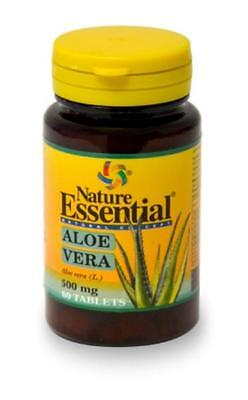 Aloe Vera 500 mg, 60 comprimidos. Nature Essential
