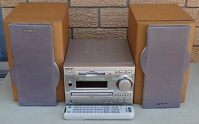 Sony DHC-MD333 Micro Hi-Fi system with CD and MD Minidisc