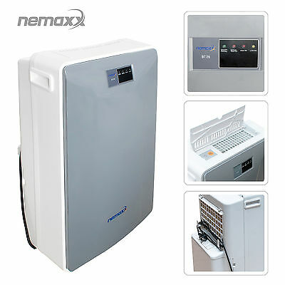 Nemaxx BT25 Dehumidifier Building Damp Flood Dryer Professional Industrial Drier
