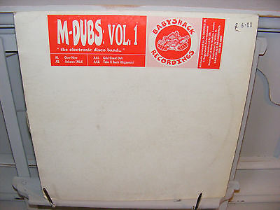 """M-Dubs. Vol 1 12"""" Over Here on Babyshack Records 1997 UK Garage House"""