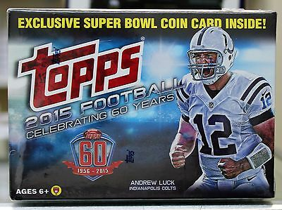 2015 TOPPS Factory Sealed FOOTBALL Card Blaster Box NFL - Brand NEW