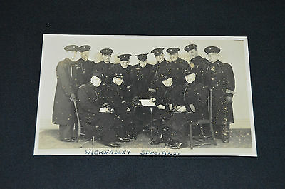 WICKERSLEY SPECIALS Special Police constables WW2 nr Rotherham Maltby Thurcroft