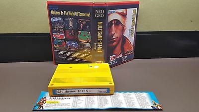 Snk Neo Geo Mvs 161 In 1 With Shock Box