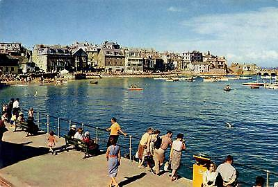 The Old Town - St Ives - Cornwall - Postcard