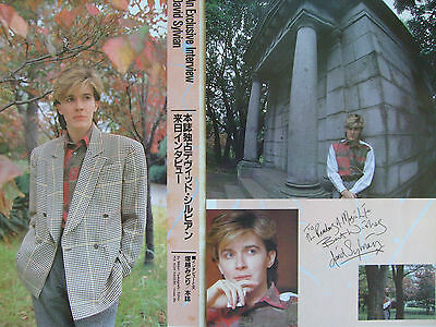 Japan / David Sylvian - Clippings From Japanese Magazines