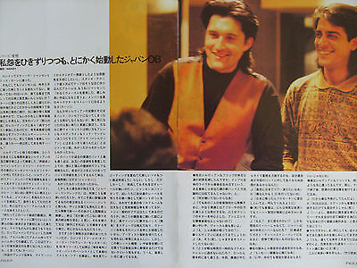 Japan / Mick Karn / Steven Jansen - Clippings From Japanese Magazines