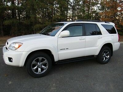 2006 Toyota 4Runner Limited Sport Utility 4-Door 06 Toyota 4Runner Limited V6 4x4 Low Miles 1Owner Records New Tires Sharp