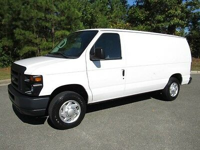 2013 Ford E-Series Van Base Standard Cargo Van 3-Door 13 Ford E150 HD Commercial Cargo w/ Shelves/Bins Low Miles 1Owner Record