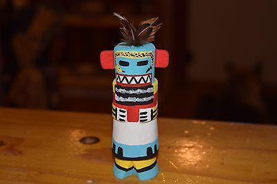 Grace Pooley Route 66 Kachina Carving Hopi Snake Guard/free Shipping