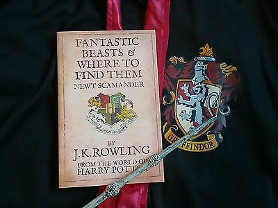 Fantastic Beasts and Where to Find Them J.K. Rowling book *new*