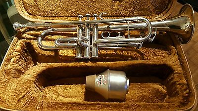 Vintage LAFLEUR ZENITH MK III London Trumpet BB In Case With Mouthpiece And Mute