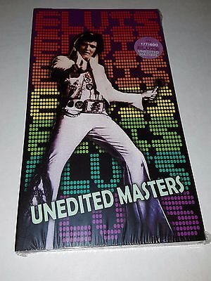 Elvis Presley - UNEDITED MASTERS - very rare mint new 4 cd